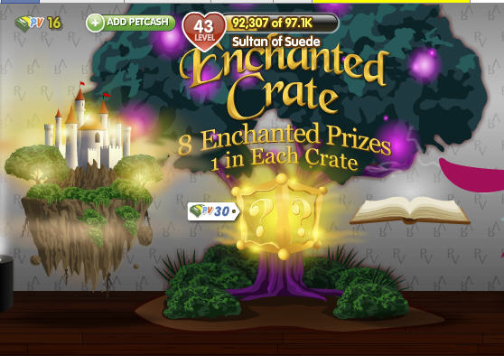petville enchanted crates