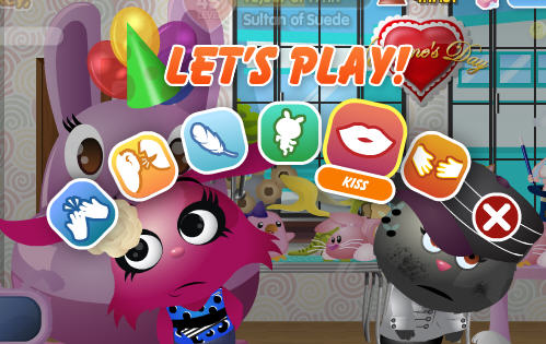 petville select kiss from the let's play menu
