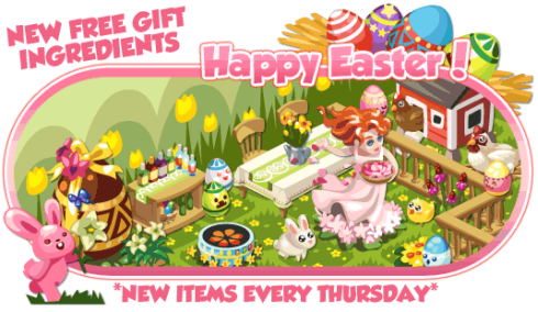 Restaurant City Easter theme
