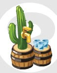 restaurant city cactus dispenser