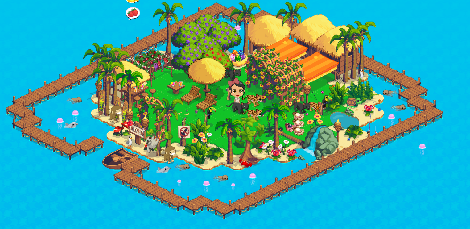 Treasure Isle expanded small isle
