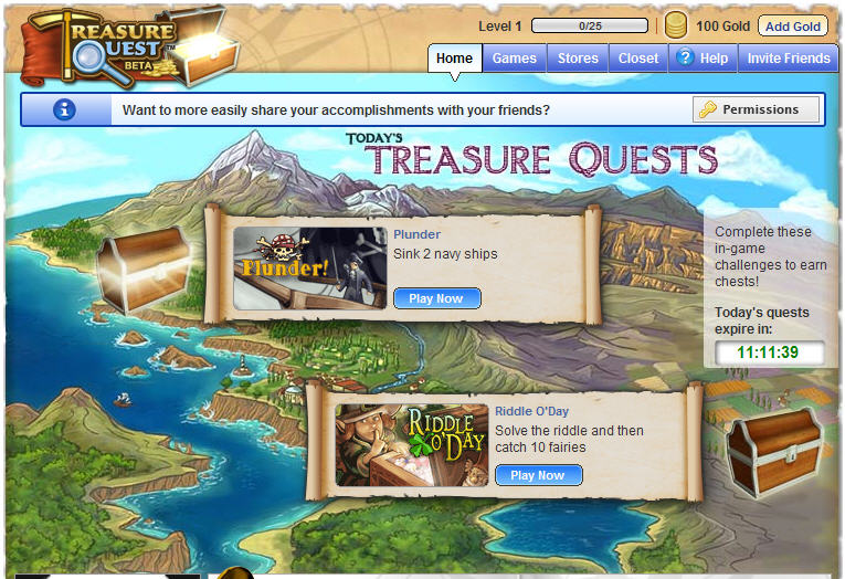 Big Fish launches Treasure Quest