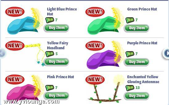 yoville enchanted costumes