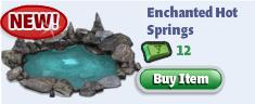 YoVille Enchanted Hot Springs