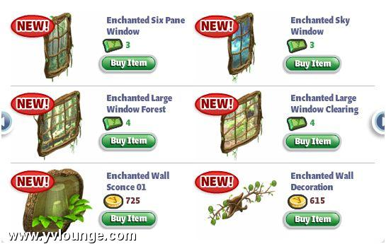 YoVille Enchanted Lands Furniture 4