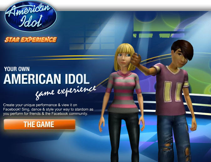 American Idol Star Experience: New singing game with Facebook ...