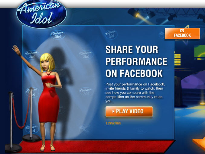 american idol star experience-share performance
