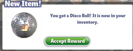 YoVille Disco Ball