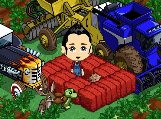 FarmVille Freak Dr. Green Thumb's Trapped Terrier Puppy