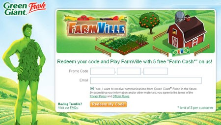 FarmVille Green Giant Fresh