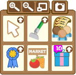 FarmVille icon window