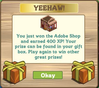 farmville adobe shop mystery box