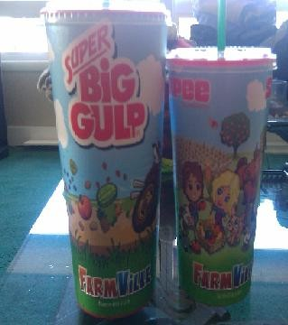 farmville big gulp and slurpee