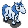 farmville blue pony foal