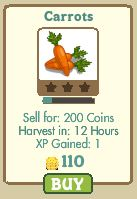 farmville carrots