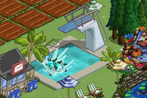 farmville cow pool calibunny