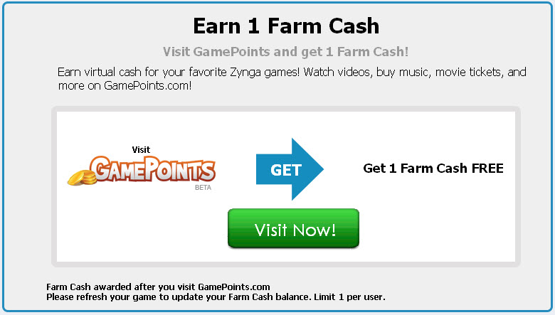 farmville free farm cash gamepoints