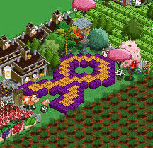 farmville cancer ribbon