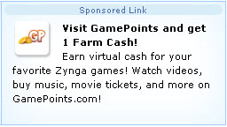 farmville gamepoints