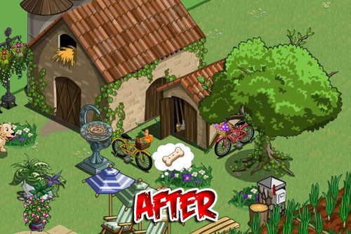 farmville tuscan barn and oak tree change