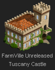 FarmVille Tuscany Castle