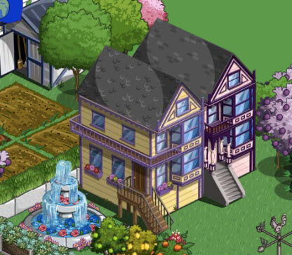 farmville yellow victorian