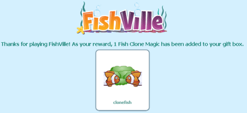 FishVille Fish Clone Magic Ability