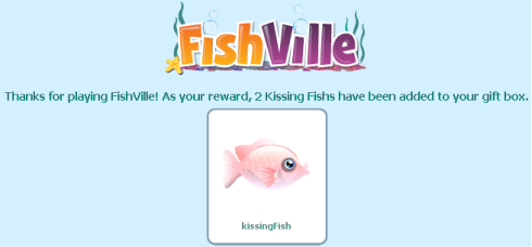FishVille Kissing Fish
