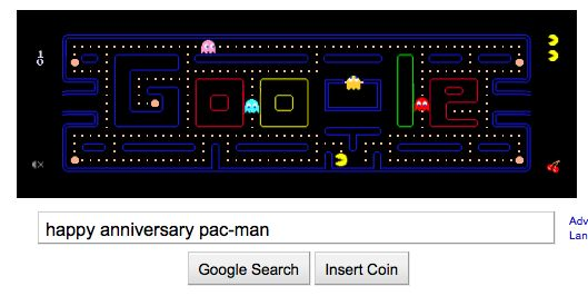 happy anniversary pac-man