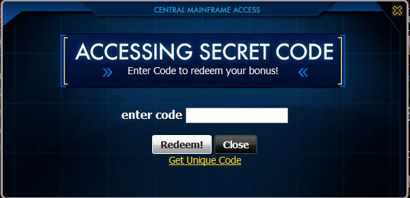 mafia wars central mainframe access