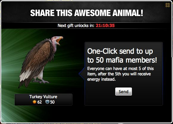 mafia wars turkey vulture