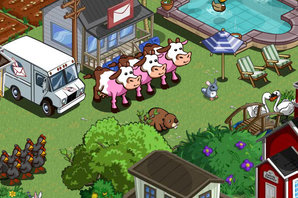 farmville neopolitan cows spotted in the wild