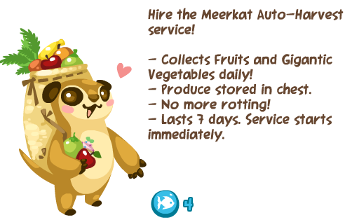 Pet Society Meerket Auto-Harvest
