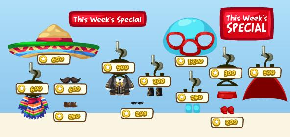 Pet Society Cinco de Mayo This Week's Special Clothes