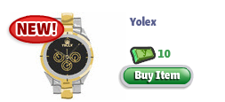 YoVille yolex watch