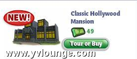 yoville hollywood mansion