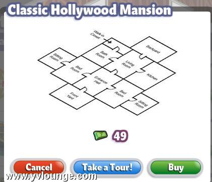 yoville hollywood mansion floor plan