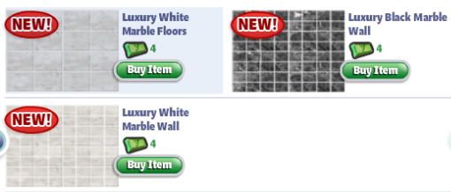 yoville luxury bathroom items