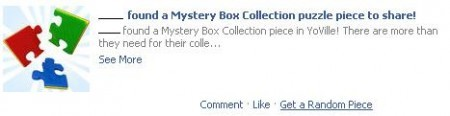 yoville mystery box collection puzzle piece