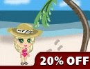 YoVille Beach Clothes 20% off