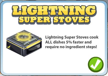 lightening super stove