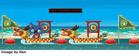 pet society dragon boat