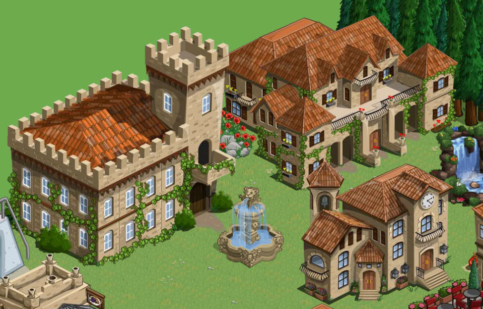 farmville tuscan buildings