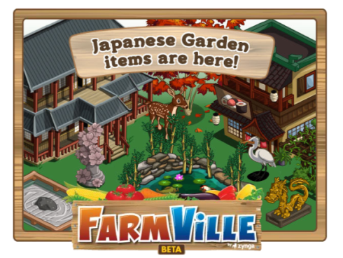 FarmVille Japanese Garden items