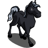 farmville black stallion foal