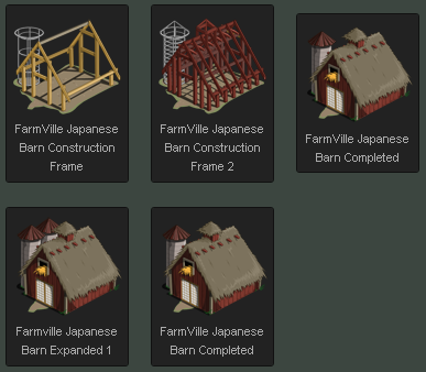 FarmVille Building Japanese Barn