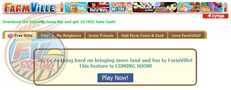 farmville land expansion