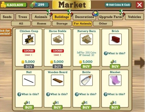farmville nursery barn glitch