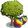farmville rainbow apple tree