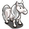 farmville silver pony